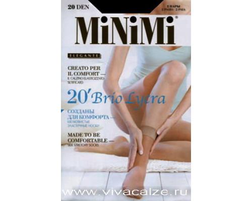 Brio 20, Шелковистые носки с укрепл. мыском